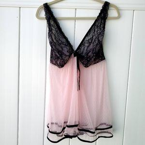 Cacique baby doll lacy lingerie plus size 22/24